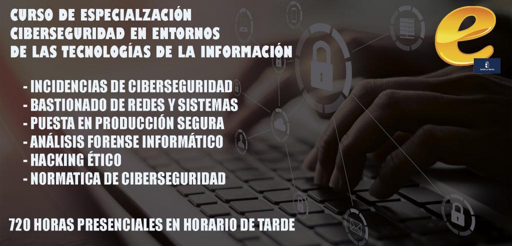 Curso Especialización en Ciberseguridad